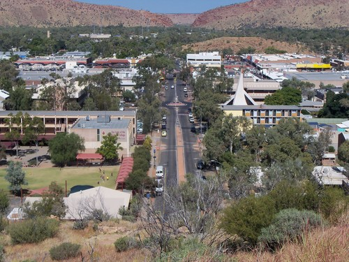 Alice Springs Anzac Hill - Country Airstrips Australia