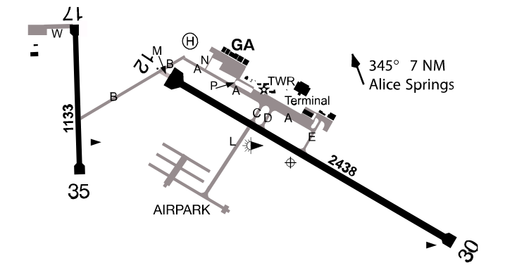 Alice Springs Airport, Northern Territory - Country Airstrips Australia