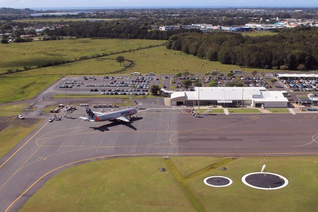 Country Airstrips Australia - Ballina Byron Gateway Airport Runways