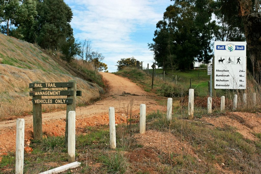 East Gippsland Rail Trail Country Airstrips Australia