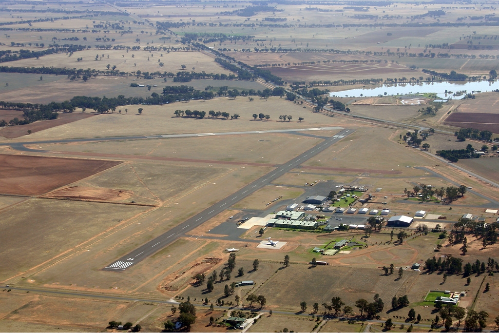 Temora Airstrip runways, Country Airstrips Australia -