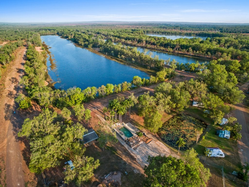 AAOK Lakes Resort and Caravan Park NT - Country Airstrips Australia