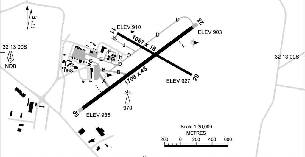 Dubbo Airport Runway Info NSW