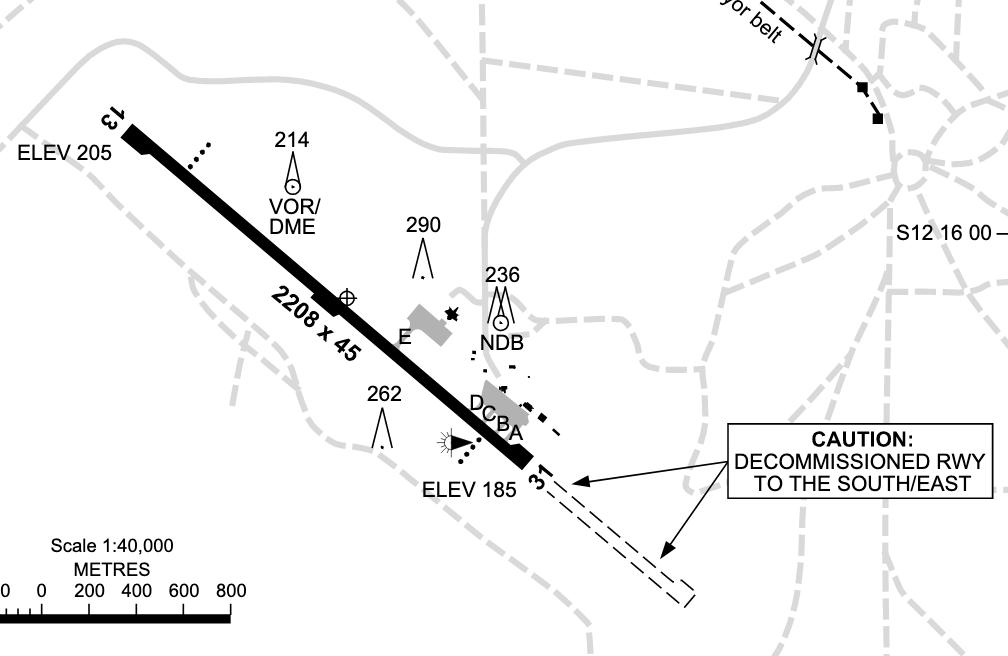 Gove Airport Runway Info NT - Country Airstrips Australia