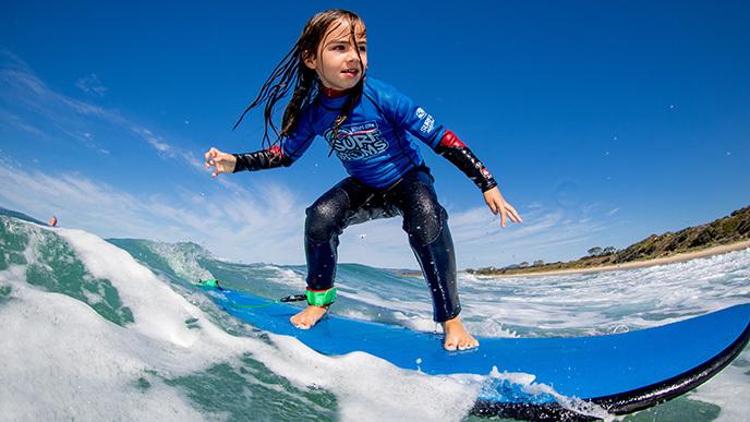 Learn to surf in Apollo Bay Victoria
