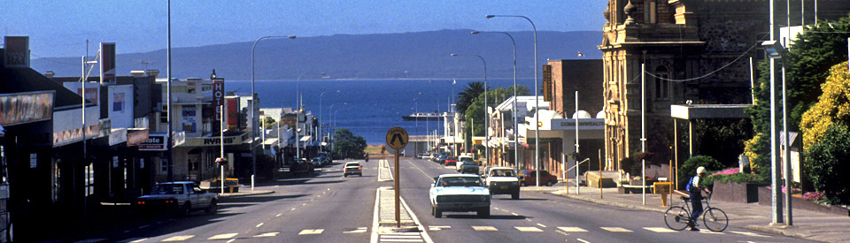 The town of Albany Western Australia