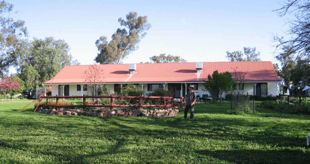 Hanericka Guest House in NSW, Country Airstrips Australia