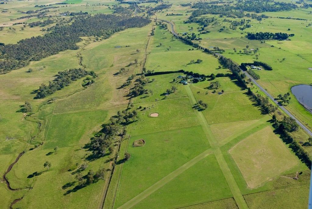 Sharron Park Airstrip layout NSW. Country Airstrips Australia