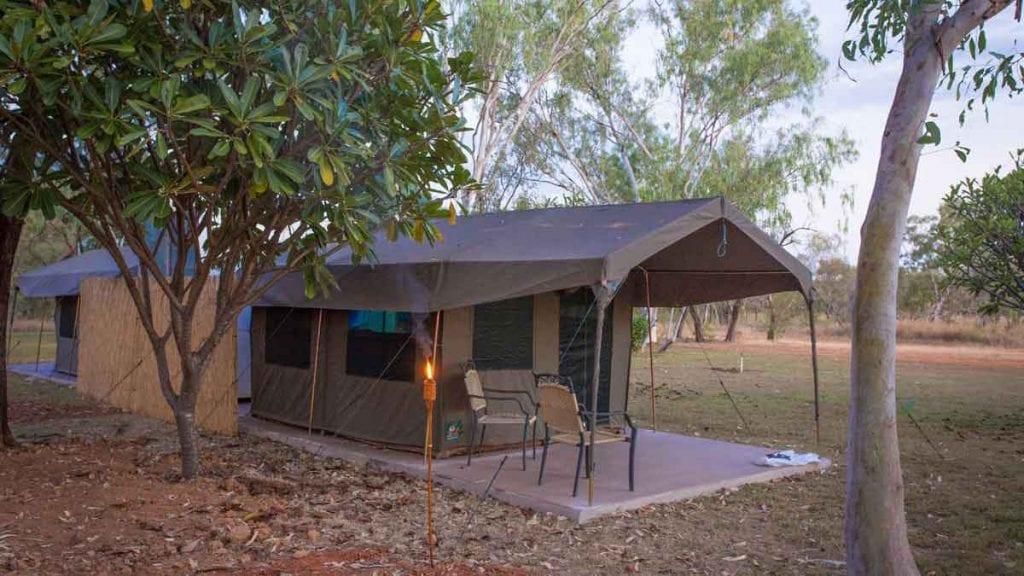Mount Hart Wilderness Lodge WA Safari Tents