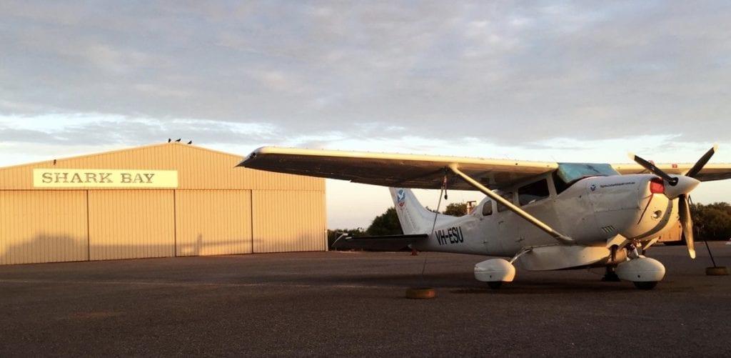 Shark Bay Airstrip WA, near Denham and Monkey Mia
