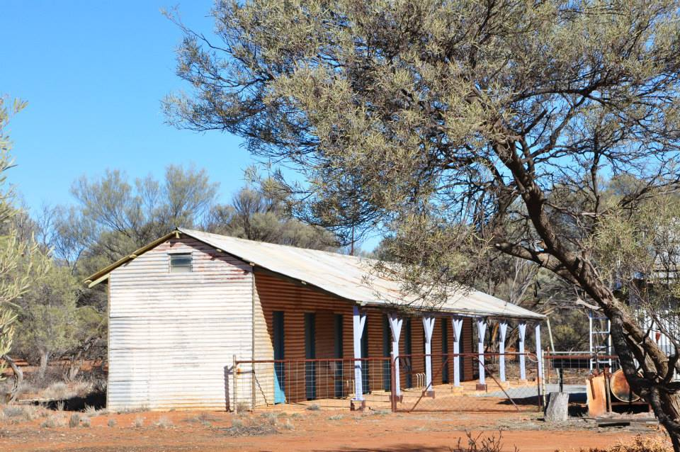 The renovated Shearers Quarters at Nalbarra Station, great accommodation options.